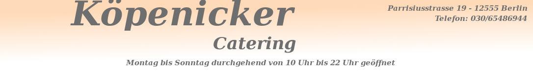 Köpenicker Catering